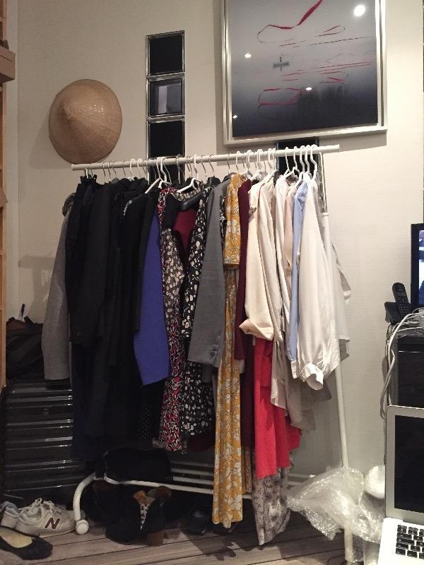 Recyclage, Récupe & Don d'objet : portant à vêtement
