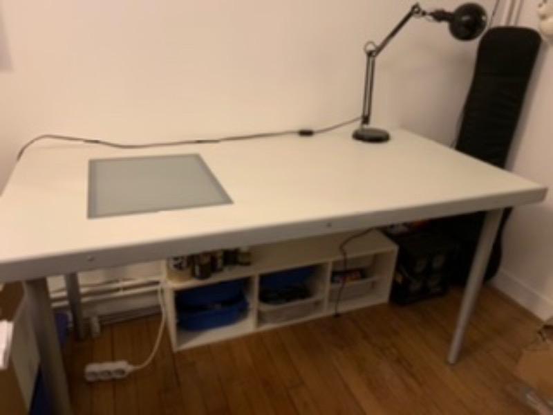 Recyclage, Récupe & Don d'objet : table/bureau à dessin