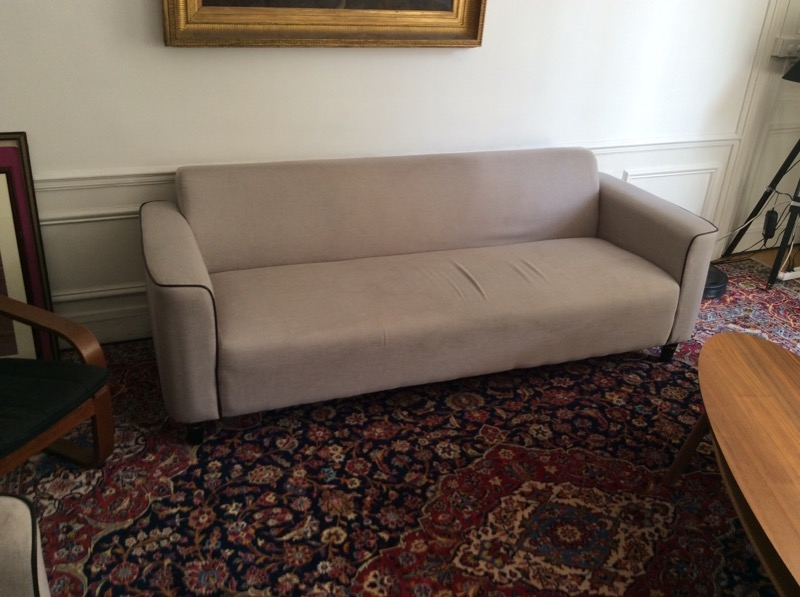 Recyclage, Récupe & Don d'objet : 1 canapé et ses 2 fauteuils