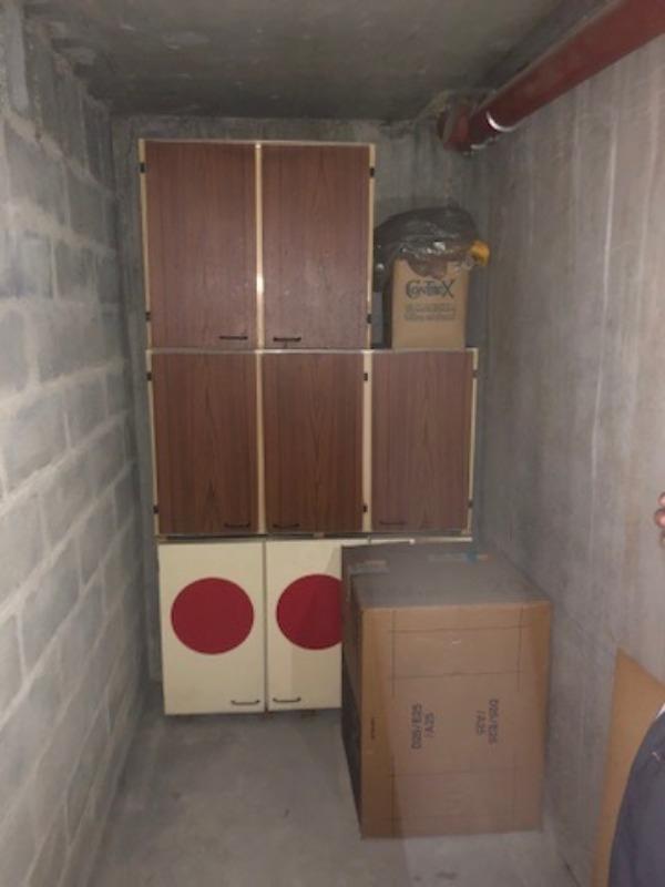 Recyclage, Récupe & Don d'objet : meubles hauts de cuisine 70s