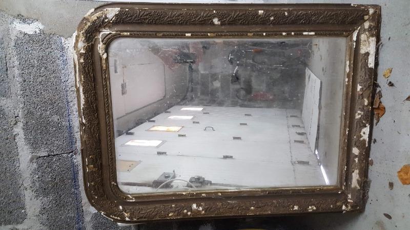 Recyclage, Récupe & Don d'objet : miroir ancien