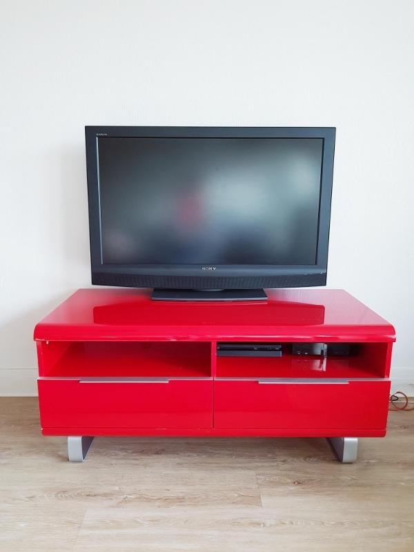 Recyclage, Récupe & Don d'objet : meuble tv laqué