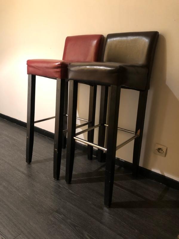 Recyclage, Récupe & Don d'objet : chaises hautes de bar