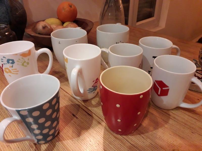 Recyclage, Récupe & Don d'objet : tasses