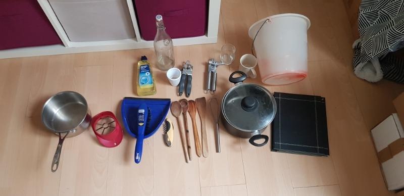 Recyclage, Récupe & Don d'objet : matériel ménager + matériel de cuisine