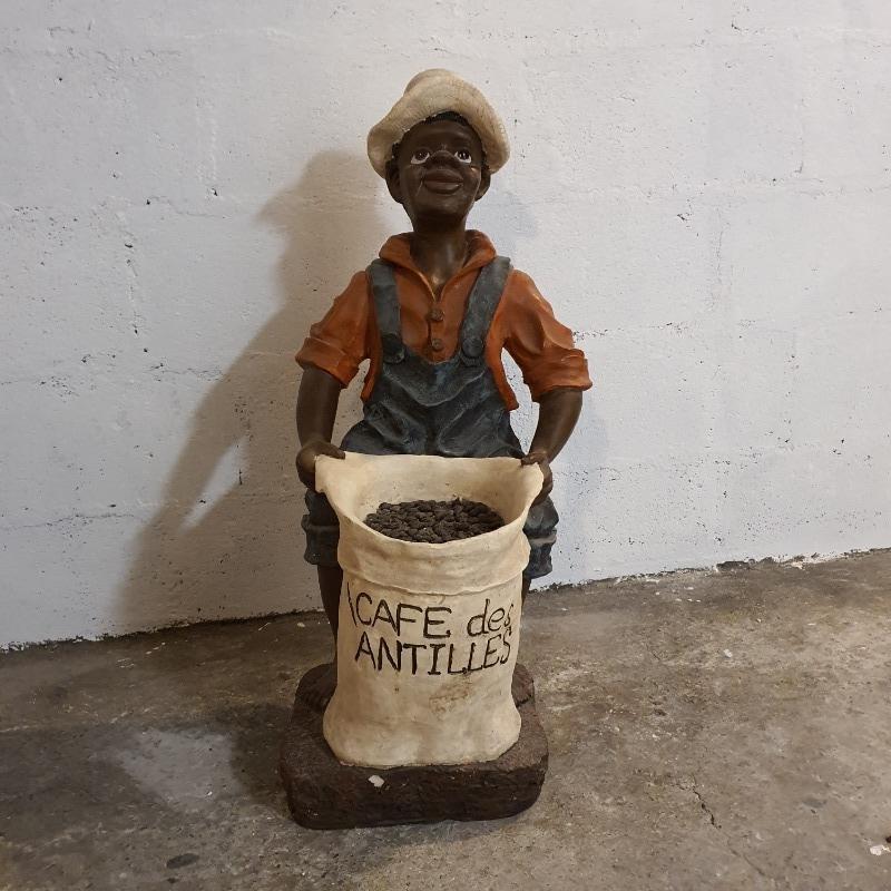 Recyclage, Récupe & Don d'objet : figurine en résine des antilles 70cm
