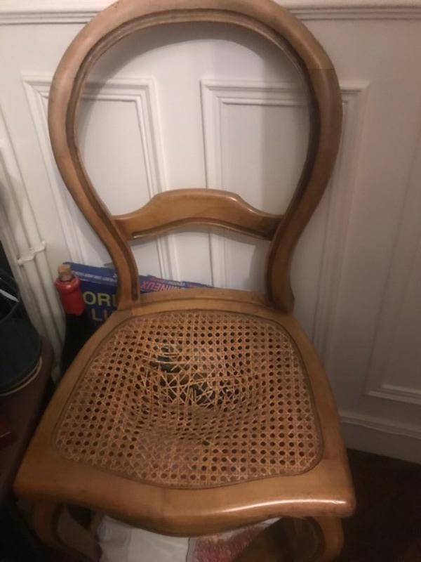 Recyclage, Récupe & Don d'objet : 4 chaises
