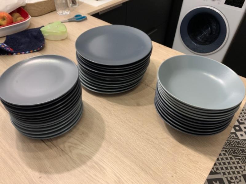 Recyclage, Récupe & Don d'objet : assiettes 12x3