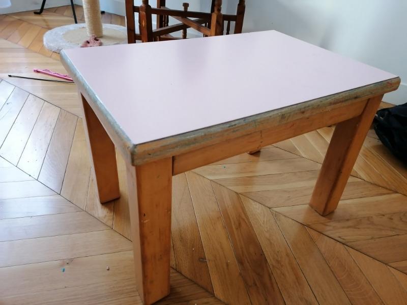 Recyclage, Récupe & Don d'objet : petite table basse
