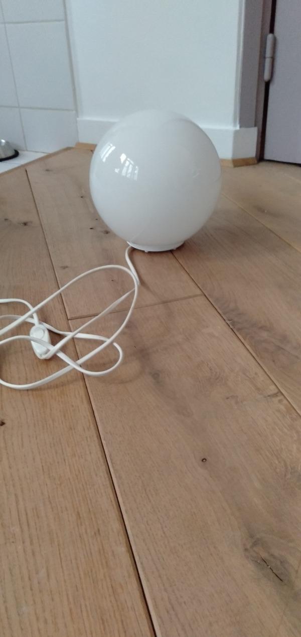 Recyclage, Récupe & Don d'objet : lampe a poser