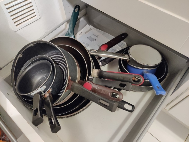 Recyclage, Récupe & Don d'objet : casseroles et poêles