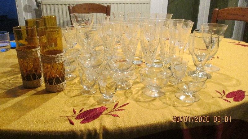 Recyclage, Récupe & Don d'objet : je donne des verres dépareillés
