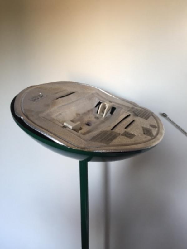 Recyclage, Récupe & Don d'objet : lampe sur pied halogène