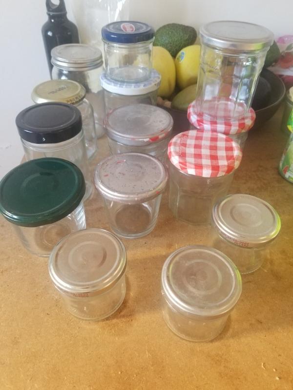 Recyclage, Récupe & Don d'objet : pot de verre avec couvercle