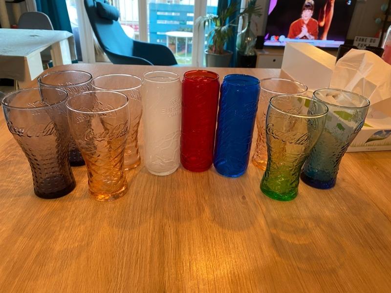 Recyclage, Récupe & Don d'objet : de 10 verres coca cola