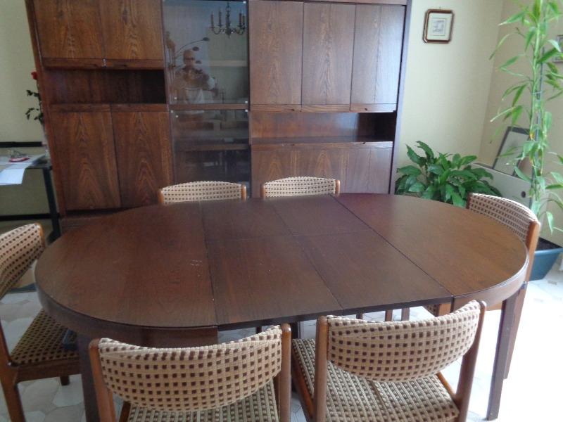 Recyclage, Récupe & Don d'objet : living table chaises