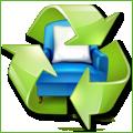 Recyclage, Récupe & Don d'objet : table en bois, pieds peints en bleu