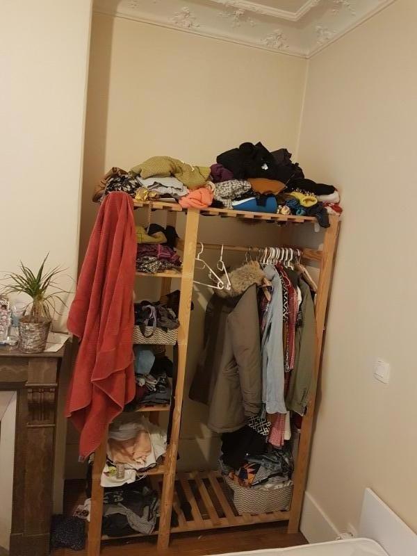 Recyclage, Récupe & Don d'objet : armoir ouvert en bois
