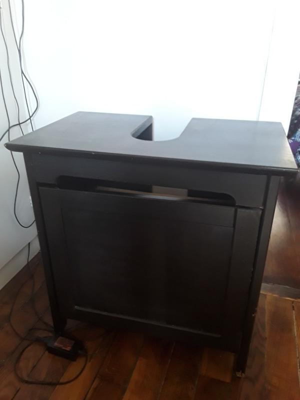 Recyclage, Récupe & Don d'objet : meuble de lavabo