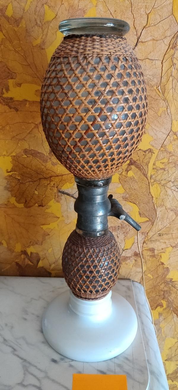 Recyclage, Récupe & Don d'objet : 2 lampes siphons décoratives