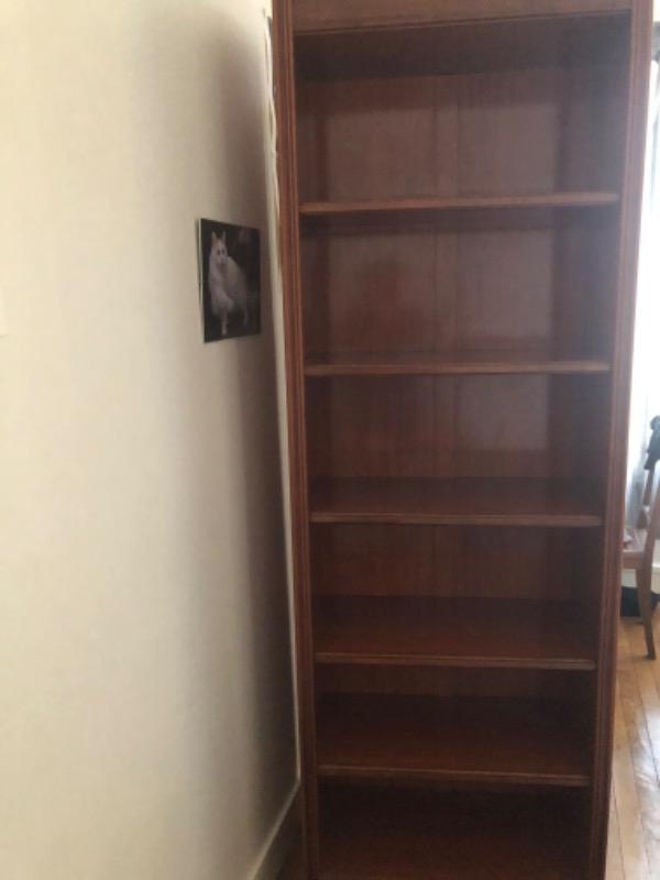 Recyclage, Récupe & Don d'objet : 2 bibliothèques en bois