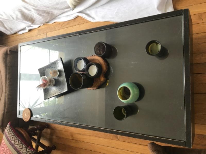 Recyclage, Récupe & Don d'objet : table basse ikea