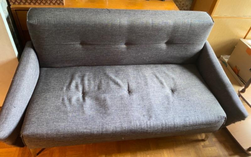 Recyclage, Récupe & Don d'objet : canapé 2 places à donner