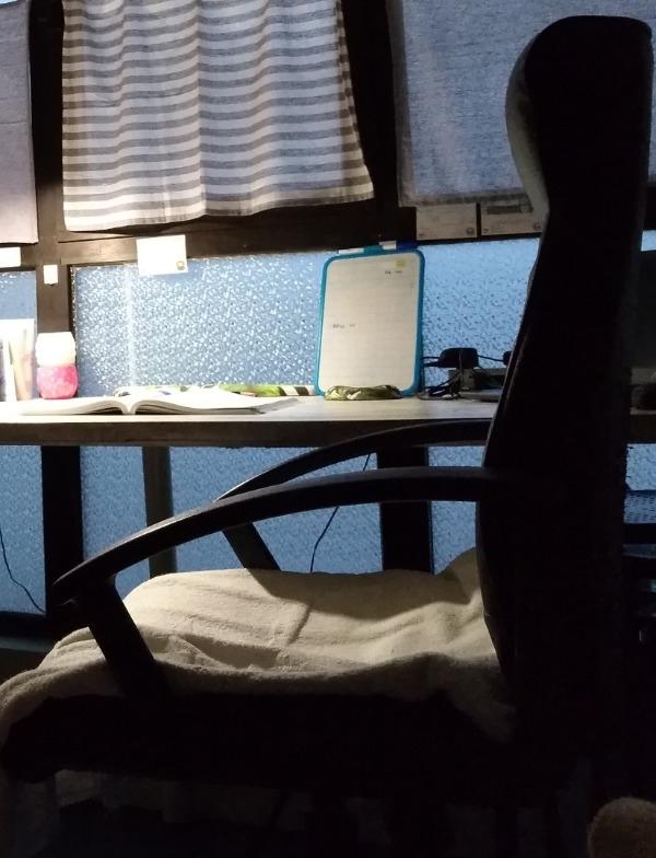Recyclage, Récupe & Don d'objet : chaise de bureau avec accoudoir état médio...