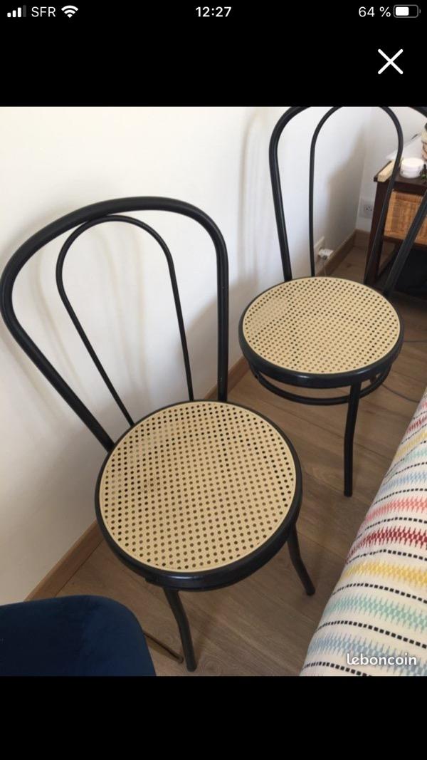 Recyclage, Récupe & Don d'objet : 2 chaises métal à réparer / souder
