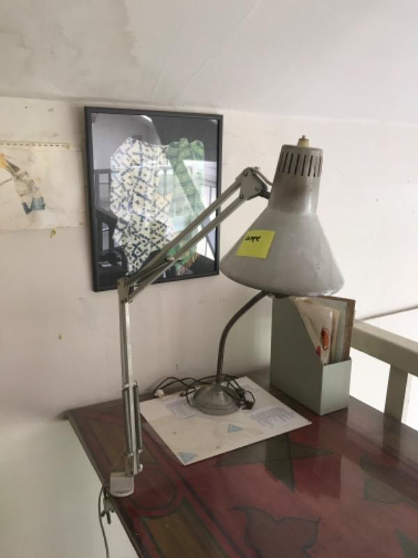 Recyclage, Récupe & Don d'objet : lampe bureau