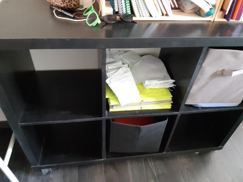 Recyclage, Récupe & Don d'objet : meuble 6 casiers
