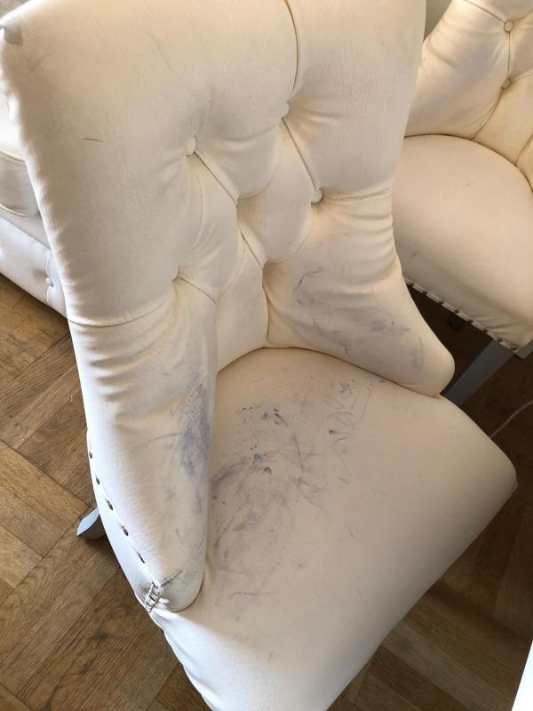 Recyclage, Récupe & Don d'objet : chaise de salle a manger x 4
