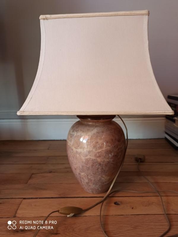 Recyclage, Récupe & Don d'objet : petite lampe à partir d'un vase