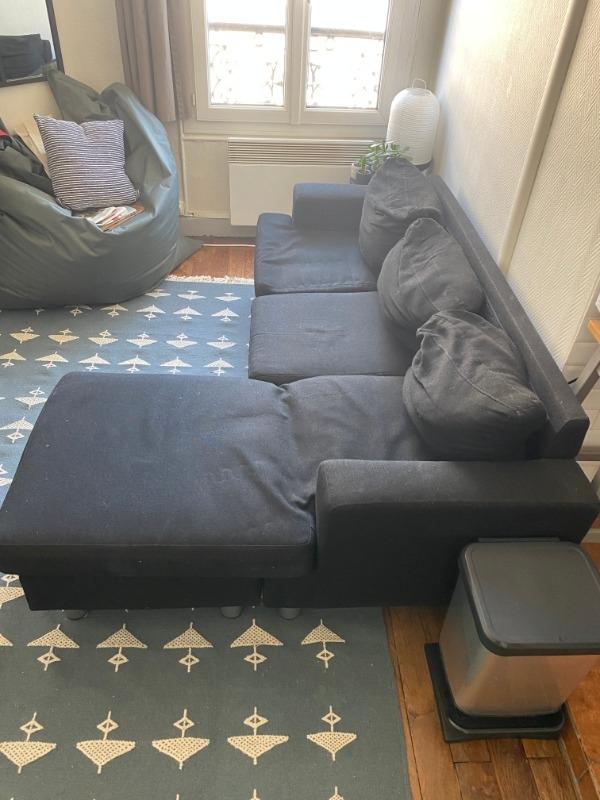 Recyclage, Récupe & Don d'objet : canapé d'angle