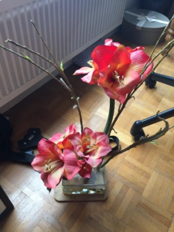 Recyclage, Récupe & Don d'objet : décoration - fleurs en tissus