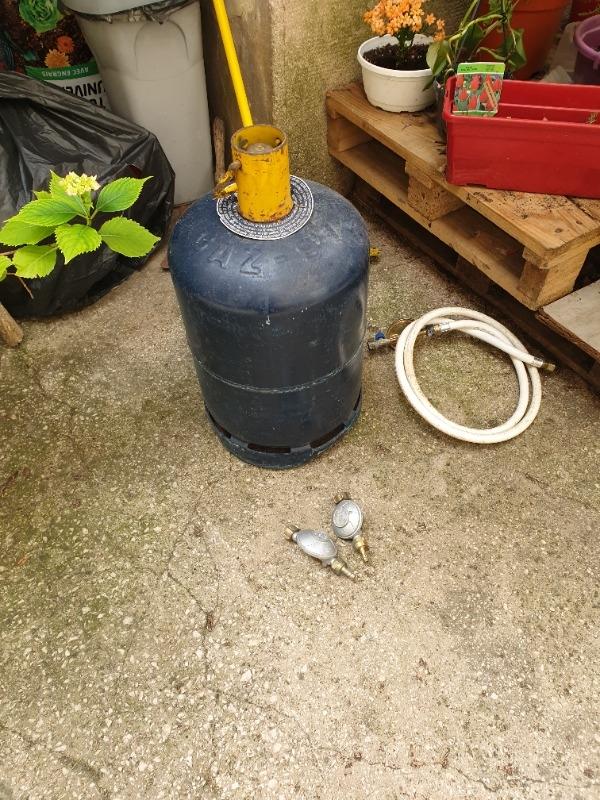 Recyclage, Récupe & Don d'objet : bouteille de gaz