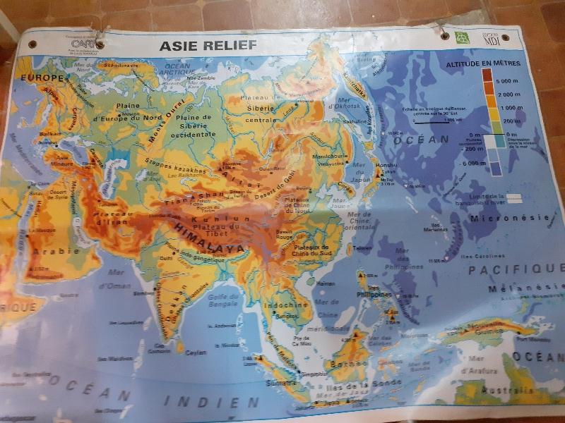 Recyclage, Récupe & Don d'objet : carte géographie