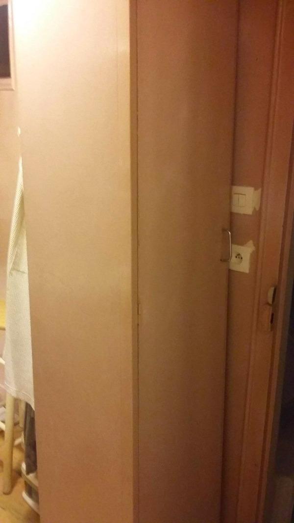 Recyclage, Récupe & Don d'objet : armoire de rangement en hauteur