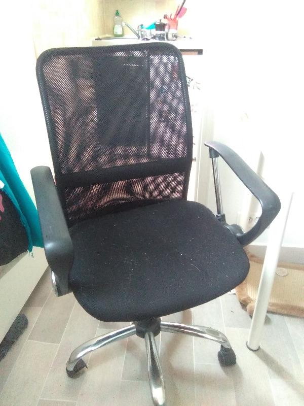Recyclage, Récupe & Don d'objet : fauteuil bureau fonctionnel