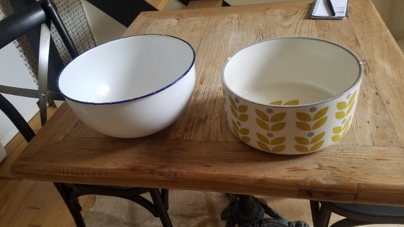 Recyclage, Récupe & Don d'objet : saladiers