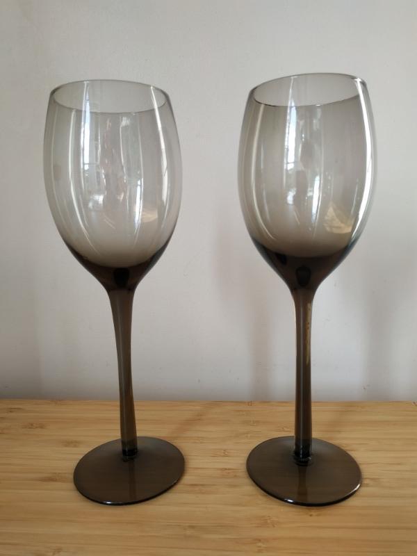Recyclage, Récupe & Don d'objet : 2 verres à pied