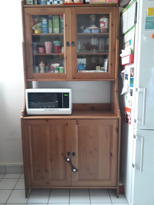 Recyclage, Récupe & Don d'objet : armoire/buffet/vaisselier