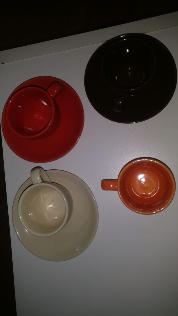 Recyclage, Récupe & Don d'objet : service à café 3 tasses