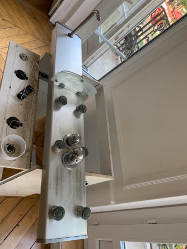 Recyclage, Récupe & Don d'objet : colonne de douche