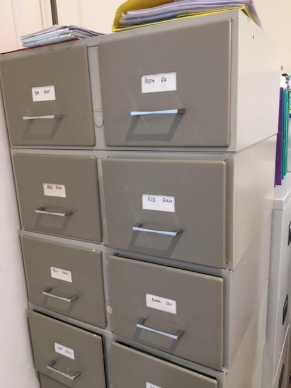 Recyclage, Récupe & Don d'objet : fichiers à tiroirs