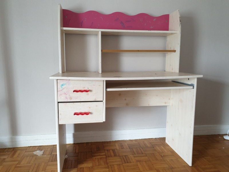 Recyclage, Récupe & Don d'objet : bureau. enfant