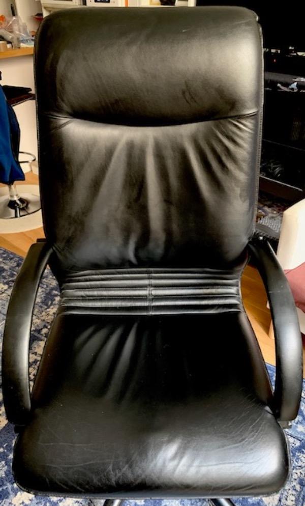 Recyclage, Récupe & Don d'objet : chaise de bureau exécutif