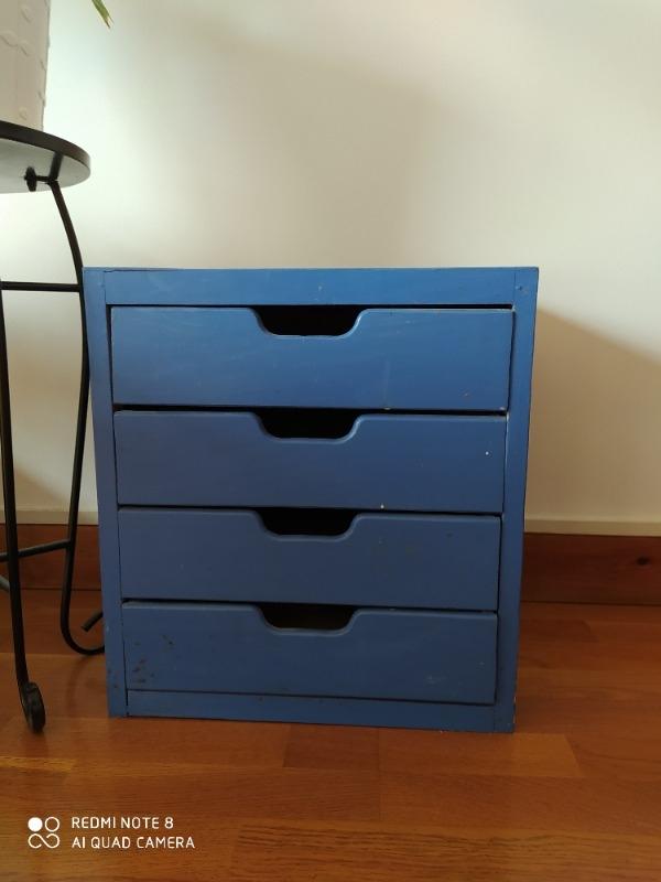 Recyclage, Récupe & Don d'objet : petit meuble en bois
