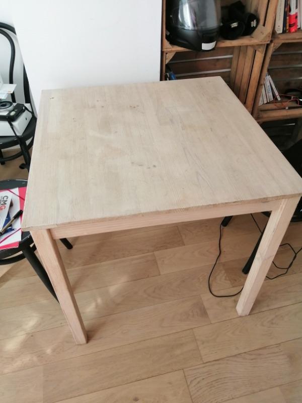 Recyclage, Récupe & Don d'objet : table, chaises et miroir