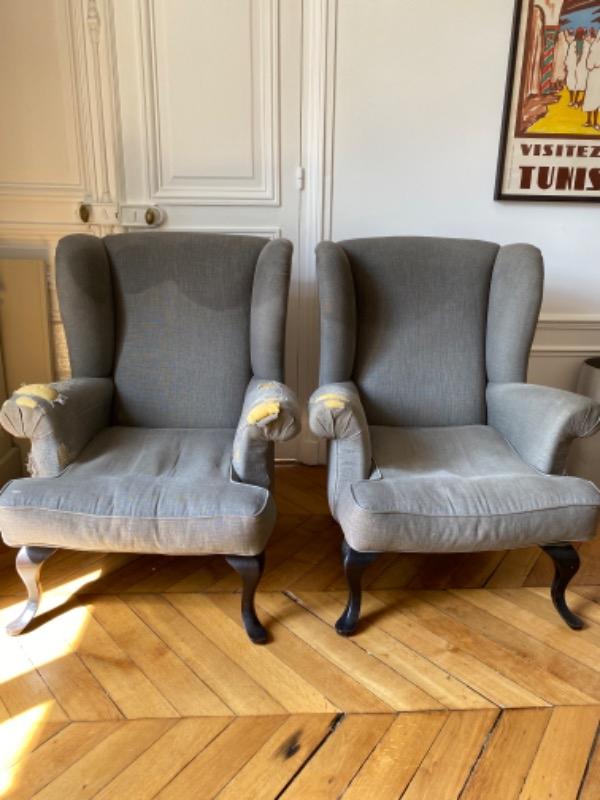 Recyclage, Récupe & Don d'objet : 2 fauteuils